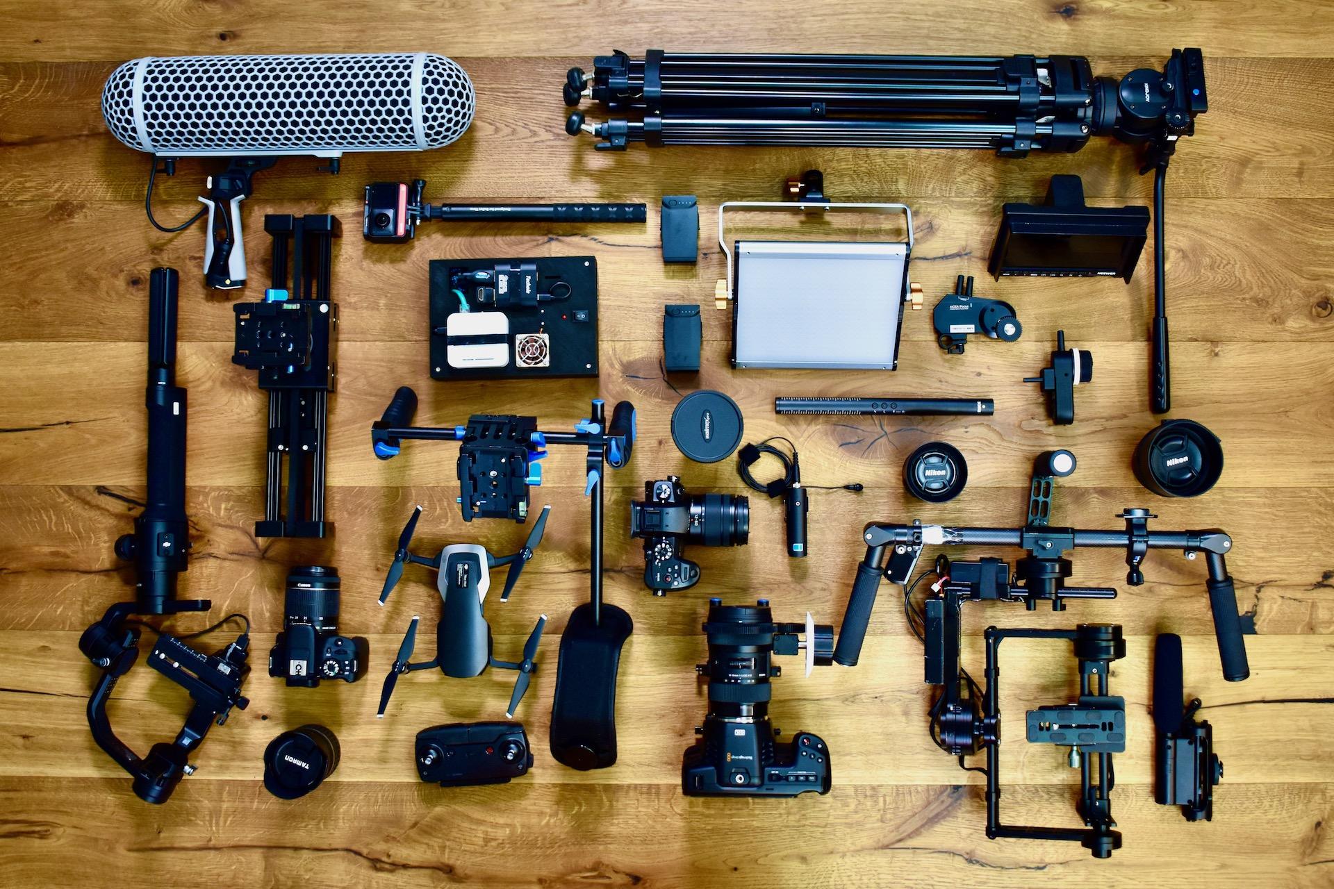 Equipment von Alva Studios