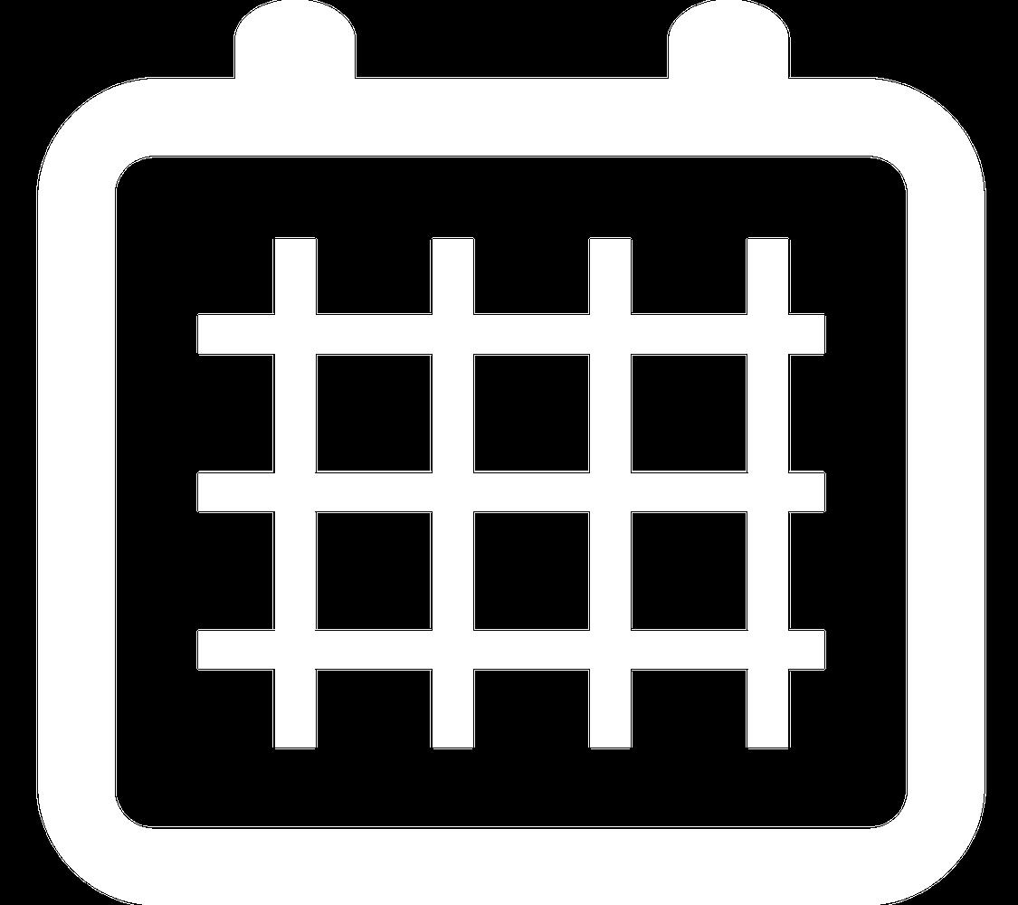 Grafiksymbol eines Kalendermonats